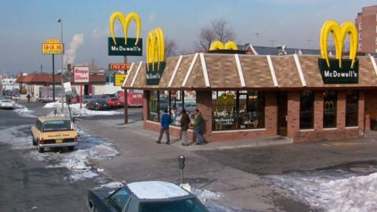 Coming to America McDowell's