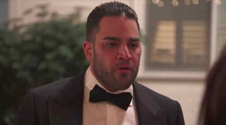 Mike Shouhed looking angry on the Shahs of Sunset finale