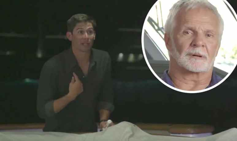 Nico Scholly and Captain Lee Rosbach from Below Deck