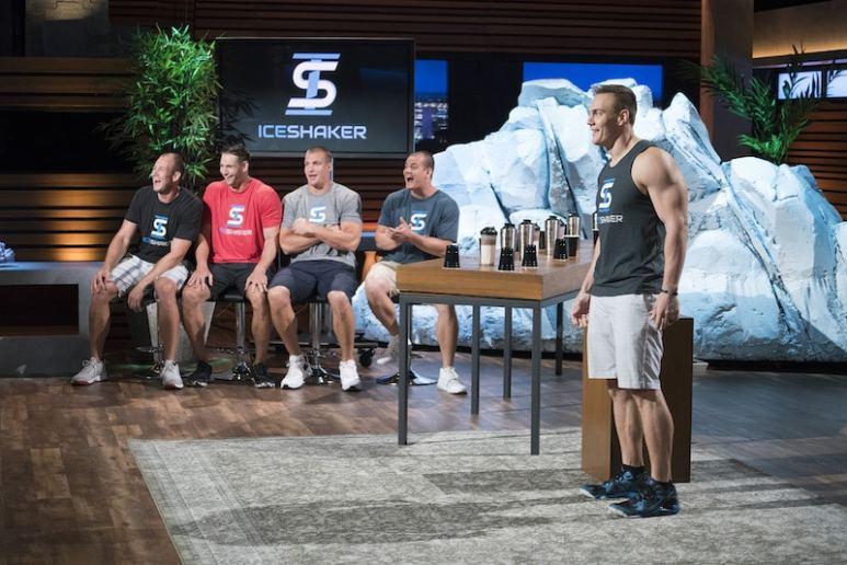 Chris Gronkowski and his brothers on Shark Tank