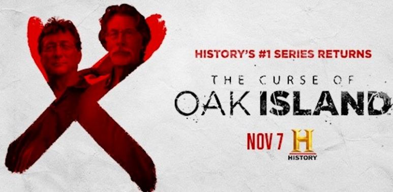 Marty and Rick Lagina in the new artwork for The Curse of Oak Island Season 5