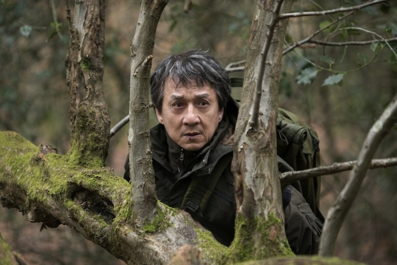 Jackie Chan in old age makeup