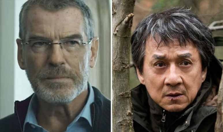 Pierce Brosnan and Jackie Chan in The Foreigner