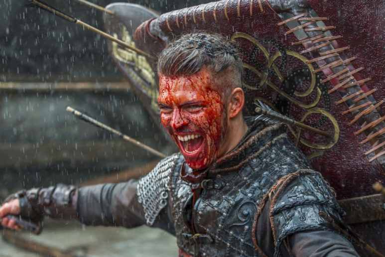 Ivar the Boneless was victorious in the last battle that closed out season 5 first leg. Pic credit: History