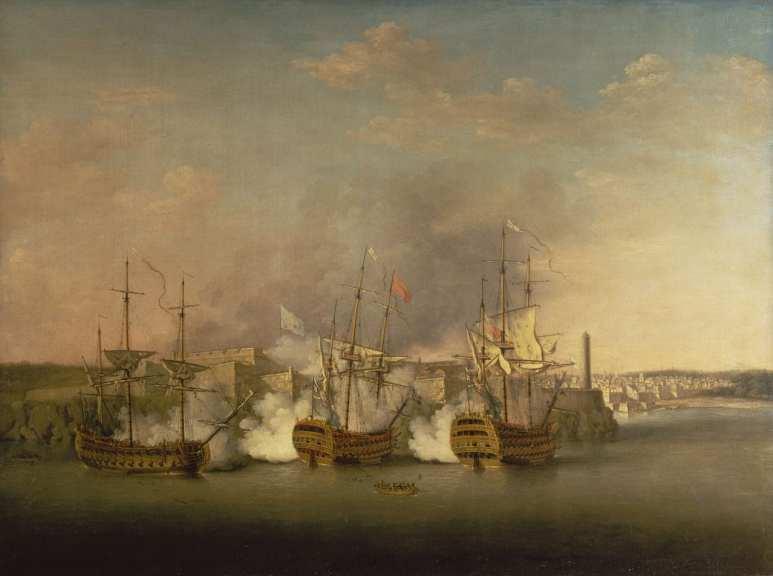 The British capturing Havana, Cuba