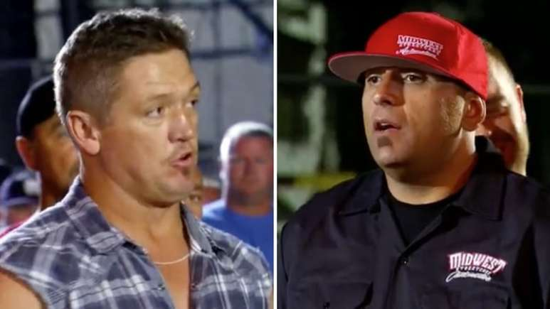 JJ 'Da Boss' and Big Chief talking on Street Outlaws