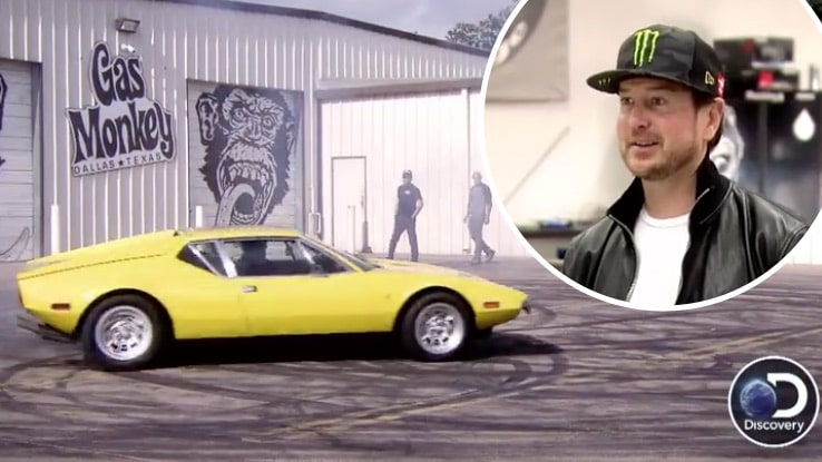 Kurt Busch and a wheel-spinning Pantera on this week's Fast N' Loud