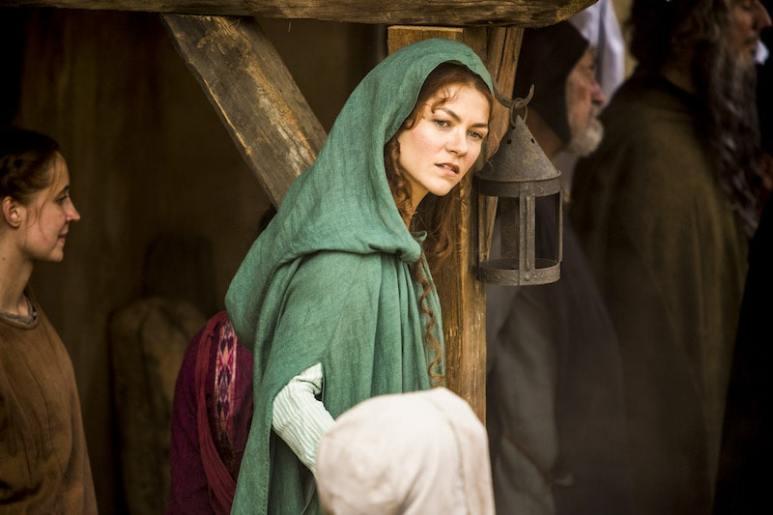 Queen Joan of Navarre (Olivia Ross) from HISTORY's New Drama Series Knightfall.