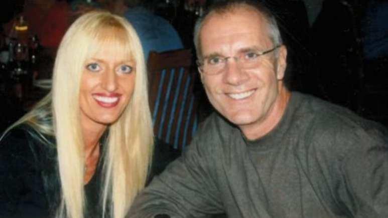 Rebecca Fenton with Larry Fenton