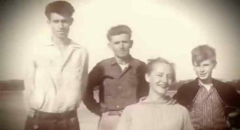 The Restall family on Oak Island