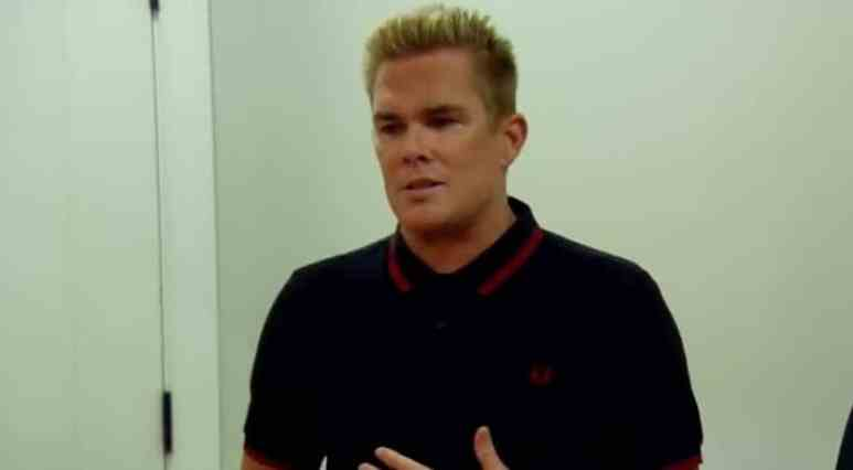 Mark McGrath from the band Sugar Ray