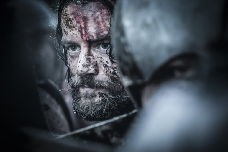 Templar Knight Gawain (Pádraic Delaney) from HISTORY's New Drama Series Knightfall.