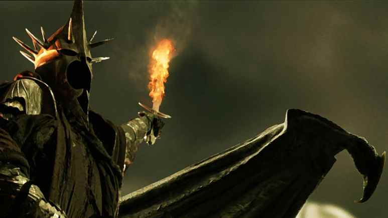 The Witch-king of Angmar and leader of The Nine