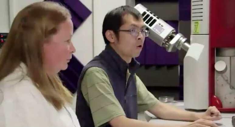 Technician Dr Xian Yiang