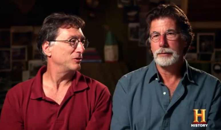 Marty and Rick Lagina on The Curse of Oak Island