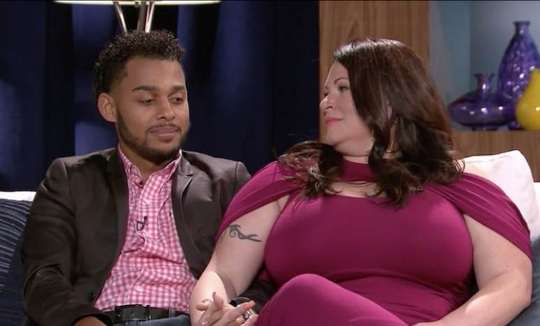 Luis and Molly on 90 Day Fiance reunion