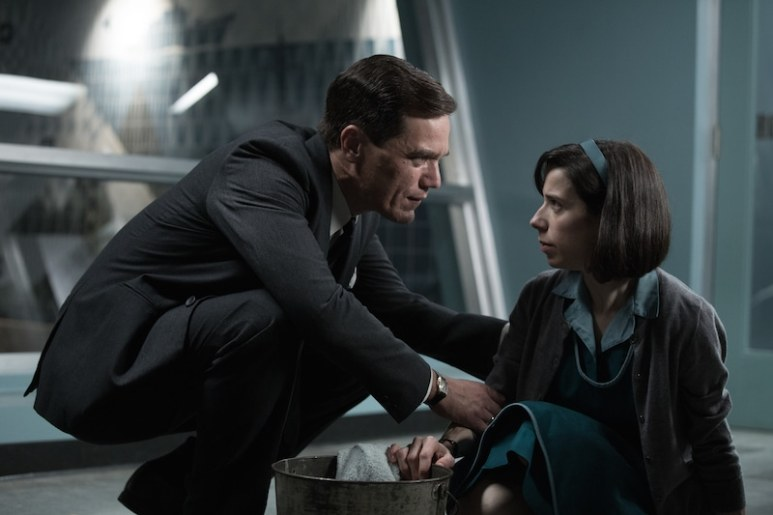 Michael Shannon and Sally Hawkins