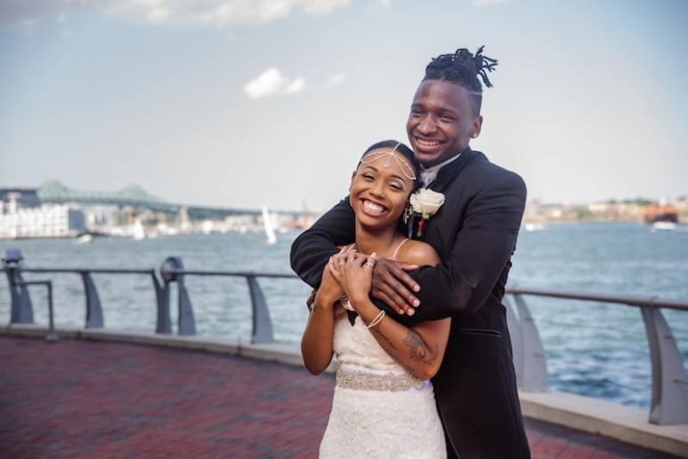 Shawniece Jackson and Jephte Pierre