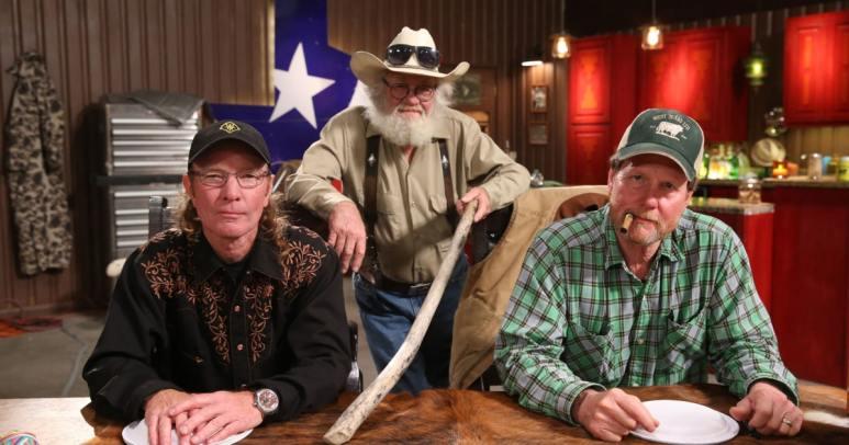 "Wayne ""Butch"" Gilliam, Gil Prather, Mike ""Rooster"" McConaughey"