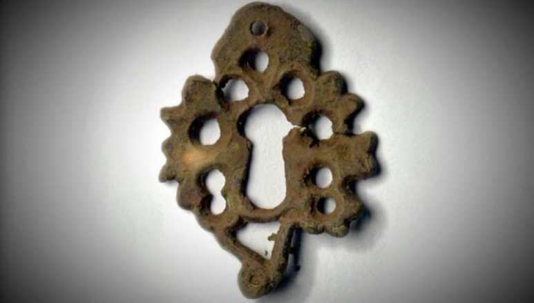 Decorative keyhole
