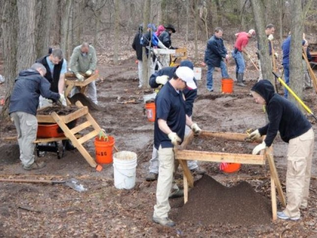 The FBI and scientists searching for the remains of Michael Hughes