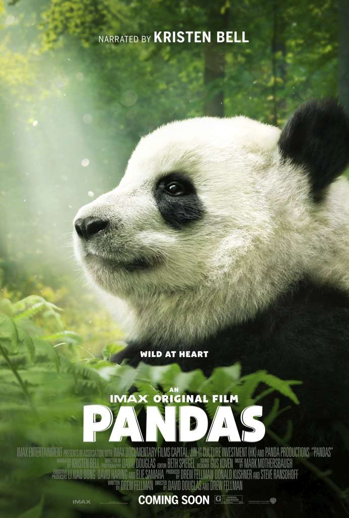 The official poster for Warner Bros. Pictures' Pandas