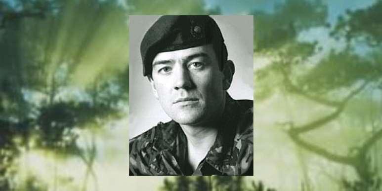 Royal Marine commando Phil Ashby