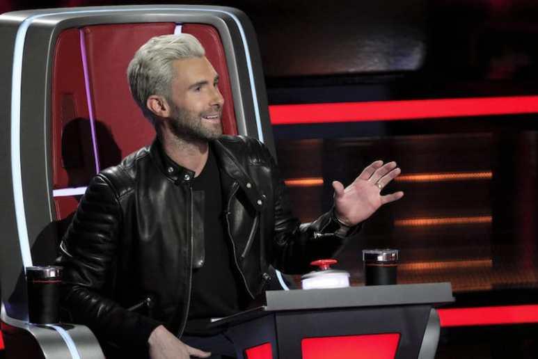 Adam Levine on The Voice