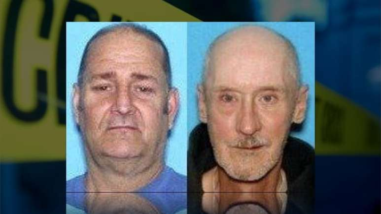Dennis Kelley (left) and Carl McFarland (right) were murdered during burglary