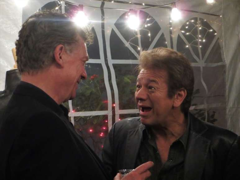 Adrian Zmed and Christopher McDonald