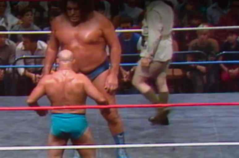 André the Giant, The Sheik