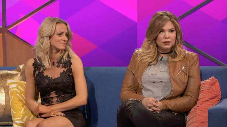 Kail and Leah from Teen Mom 2