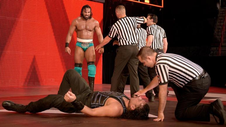 Why was Roman Reigns not on WWE Monday Night Raw?