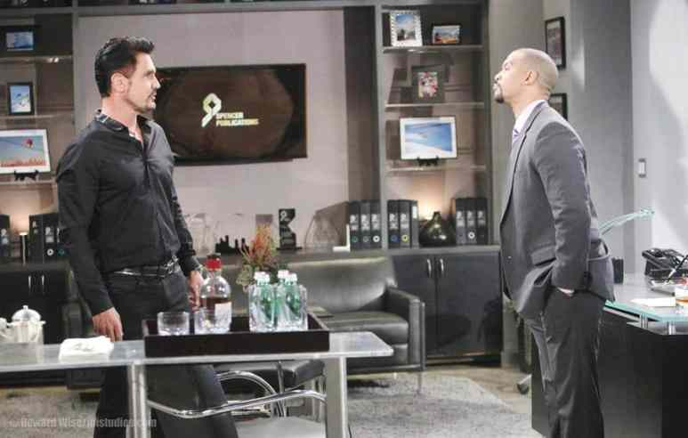 Bill and Justin on The Bold and the Beautiful