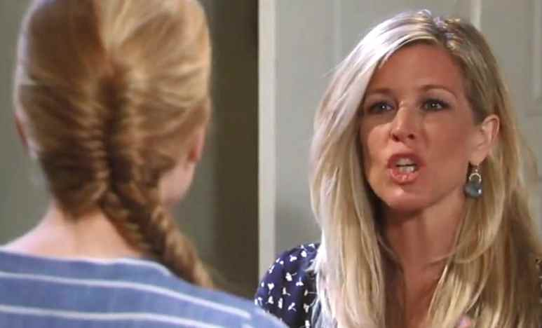 Carly and Nelle on General Hospital