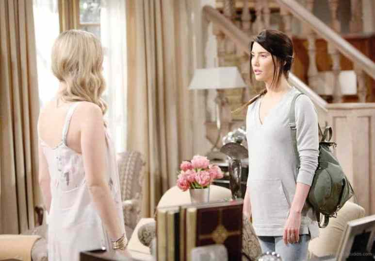 Hope and Steffy on The Bold and the Beautiful