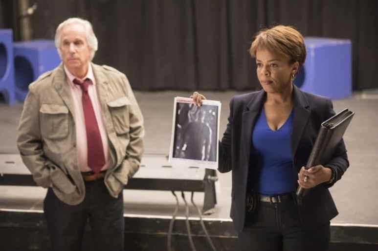 Det. Janice Moss and Gene Cousineau