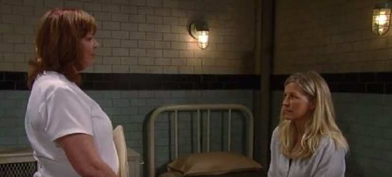 Mary Pat and Carly on General Hospital