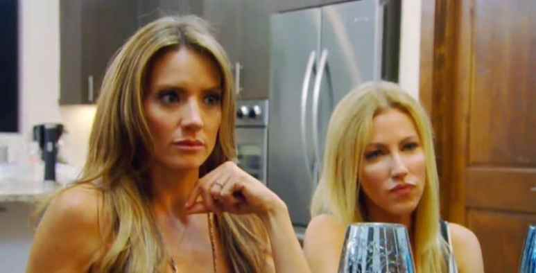 Cary Deuber and Stephanie Hollman of The Real Housewives of Dallas