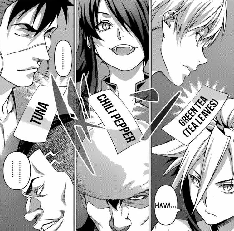 Shokugeki no Soma Manga 2nd Bout