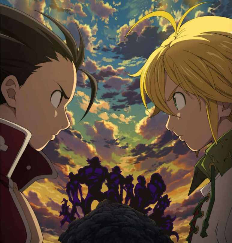 The Seven Deadly Sins poster art