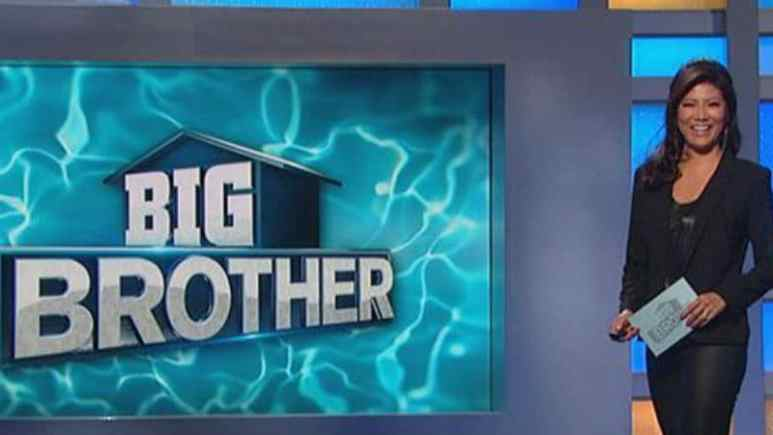 Julie Chen on the set of Big Brother 20