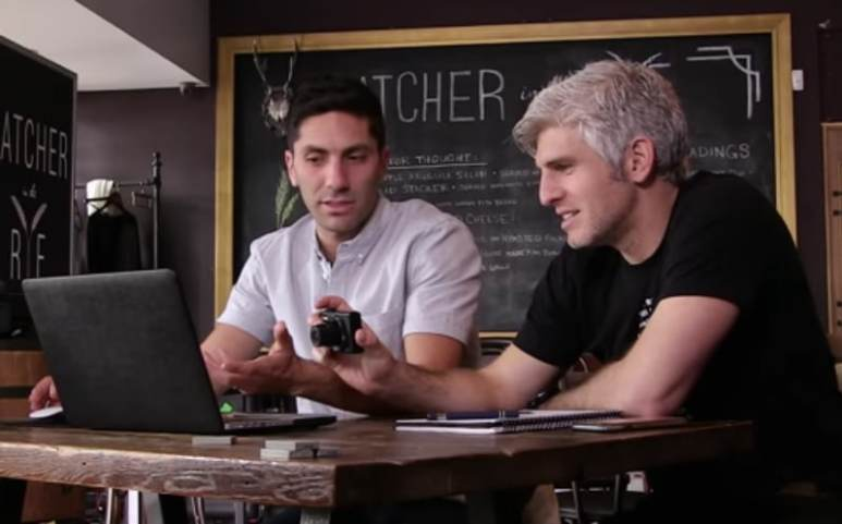 Nev and Max search for answers on Catfish: The TV Show