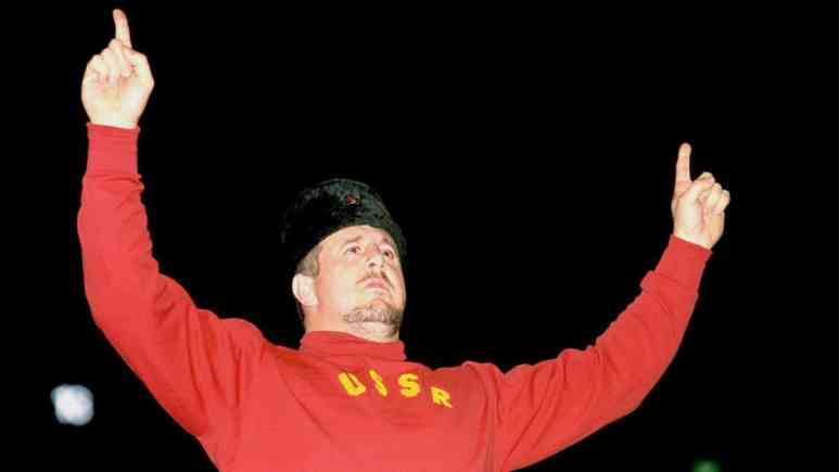 Nikolai Volkoff in the WWE