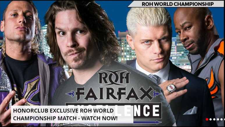 New ROH Champion crowned at Honor Club show