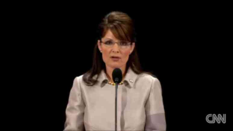 Sarah Palin accepts the Vice Presidential nomination