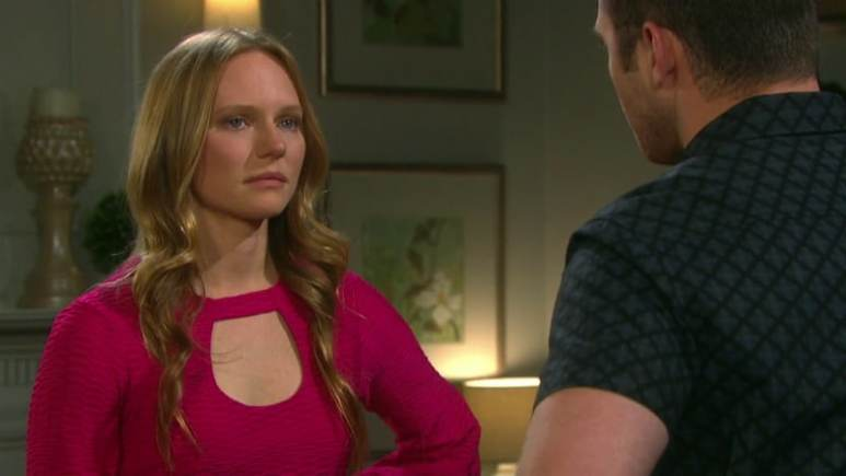 Abi and JJ on Days of Our Lives