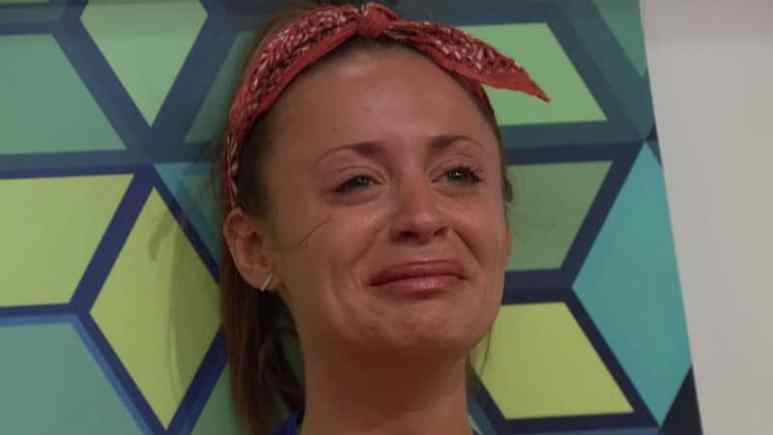 Kaitlyn crying on Big Brother