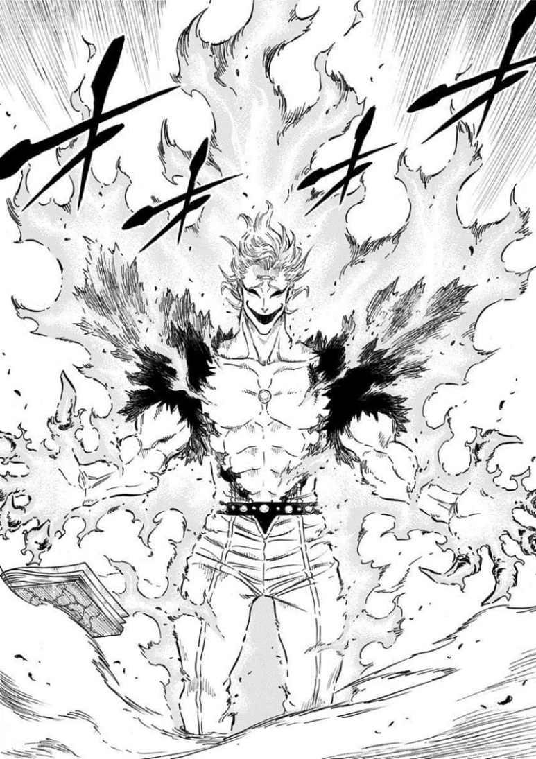 Black Clover Manga Ladros And Salamander