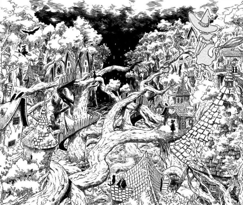 Black Clover Manga Witch's Forest